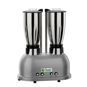 Frullatore Doppio con Bicchieri Inox - 1,5 + 1,5 lt FR2150I