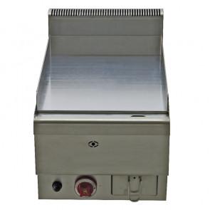 Griglia a Gas Piano Liscio FTG40 - Cm 40 x 65 x 47,5 h