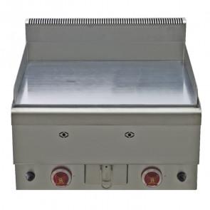 Griglia a Gas Piano Liscio FTG60 - Cm 60 x 65 x 47,5 h