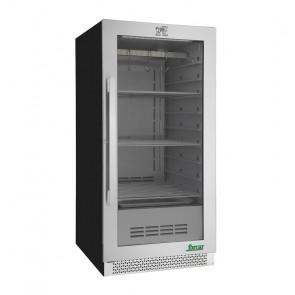 Vetrina Refrigerata per Frollatura Carne - Temp +1° +25° C - Capacità Lt 233
