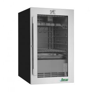 Armadio Refrigerato per Frollatura Carne Libera Installazione - Temp +1° +25° C - Capacità Lt 88