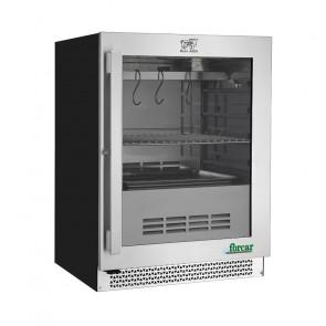 Armadio Refrigerato per Frollatura Carne da Incasso - Temp +1° +25° C - Capacità Lt 98