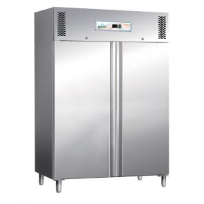 Armadio Congelatore GN1200BT Statico 2 Ante Inox - Lt 1104 - Temperatura -18° -20° C