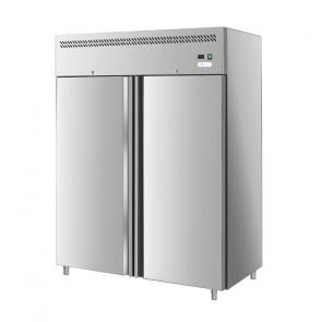 Armadio Refrigerato GN2/1 Statico - Porta Cieca Doppia Anta - Capacità Lt 1200