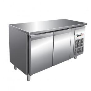 Tavolo Refrigerato 2 Porte profondità 70, GN 1/1 Temperatura -2° +8°C