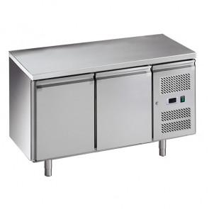 Banco Refrigerato Ventilato GN1/1 - 2 Porte - Temperatura -2° +8° C