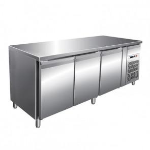 Tavolo Congelatore Gastronomia, 3 Porte -18° -22°C