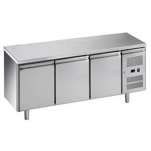 Banco Refrigerato Ventilato GN1/1 - 3 Porte - Temperatura -2° +8° C