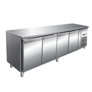 Tavolo Congelatore Gastronomia, 4 Porte -18° -22°