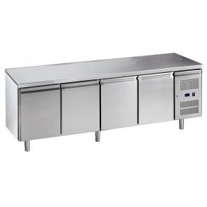 Banco Refrigerato Ventilato GN1/1 - 4 Porte - Temperatura -2° +8° C