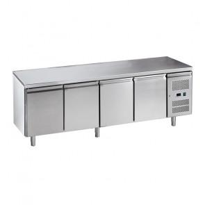 Banco Freezer Ventilato 4 Porte - Temp -18° -22° C - Capacità Lt 553