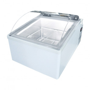 Mini Vetrina da Banco ICE2V Gelato Mantecato - Capacità Lt 10