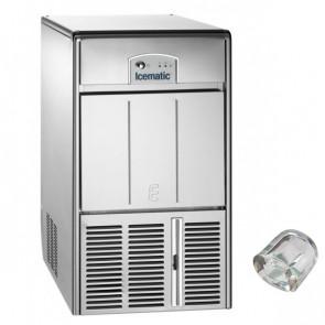 Fabbricatore di Ghiaccio Icematic E25 Prod/24h 25 Kg, Deposito 10 Kg