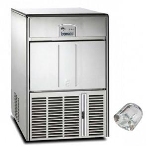 Fabbricatore di Ghiaccio Icematic E35 Prod/24h 37 Kg, Deposito 12 Kg