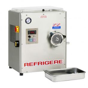 Tritacarne Refrigerato 32 con Inversione di Marcia, Inox AISI 304