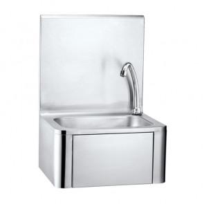 Lavamani a Parete LAV01000 - Comando a Ginocchio - Dispenser Sapone