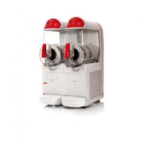 Granitore Sorbettiera NGEASY102 - 2 Vasche 10 + 10 Litri