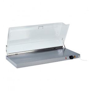 Piano Caldo Inox AISI 304 con Cupola in Plexiglass PCC4710