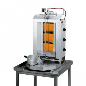 Macchina Gyros a Gas, Capacità Carne 40 Kg