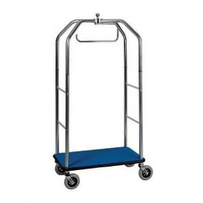 Carrello Portavaligie con Appendiabiti - Diverse Combinazioni - Portata Max Kg 150