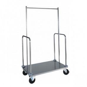 Stender Professionale Portabiti e Valigie in Acciaio Inox - Portata Max Kg 200