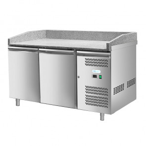 Banco Refrigerato per Pizza - 2 Porte - Cm. 151 x 80 x 100 h