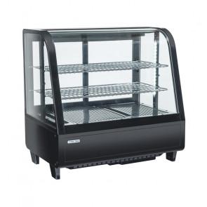 Espositore Refrigerato da Banco RC100B - Capacità Lt 100 - Temp +1° +12° C