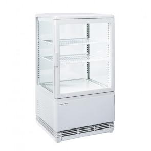 Espositore Refrigerato Ventilato RC58W - Capacità 58 Lt - Temp. +4 / +12° C