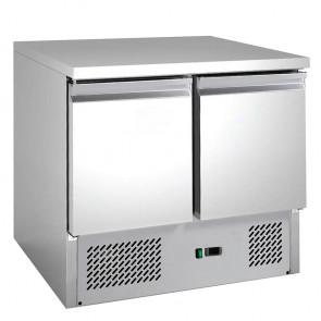 Saladette Refrigerata Statica - 2 Porte - Cm. 90 x 70 x 85 h
