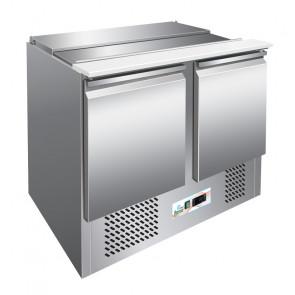Saladette Refrigerata per Insalate con Porta Bacinelle 3 GN1/1 - Temp. +2° +8° C