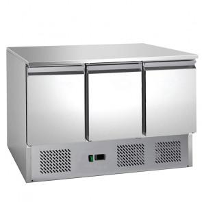 Saladette Refrigerata Statica - 3 Porte - Cm. 136,5 x 70 x 85 h