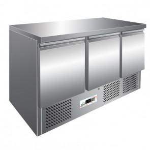 Saladette Refrigerata S903TOP 3 Porte Cm 136,5 x 70 x 86,5 h - Temp. +2° +8°