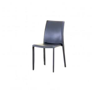 Sedia in PVC Impilabile - Roma - Cm 50 x 42,5 x 96 h