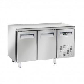 Tavolo Congelatore Ventilato 2 Porte - Profondità Cm 60 - Capacità Lt 230