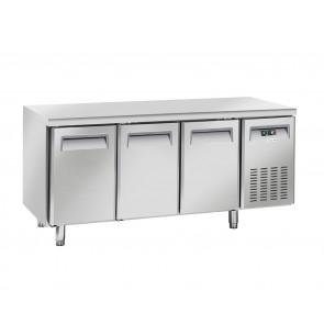 Tavolo Congelatore Ventilato 3 Porte - Profondità Cm 60 - Capacità Lt 358