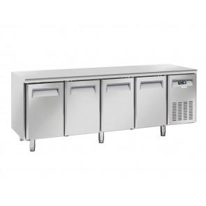 Tavolo Congelatore Ventilato 4 Porte - Profondità Cm 60 - Capacità Lt 485