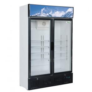 Armadio Refrigerato Statico SNACK638 Porta Doppia Vetro - 620 Lt