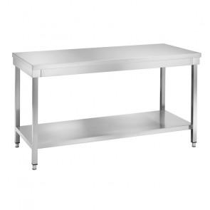Tavolo da Lavoro in Acciaio Inox - Profondità Cm 70