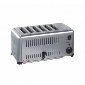 Toaster Tostapane Inox EV6 - 6 Forni