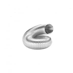 Tubo Flessibile in Alluminio per Cappe di Aspirazione - Lunghezza Cm 90/300