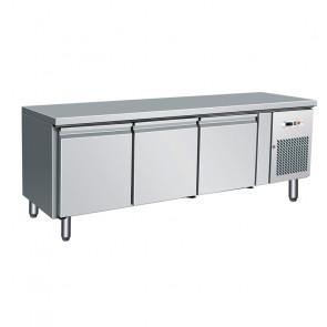 Tavolo 3 Porte Ventilato h 650 con Griglie GN 1/1