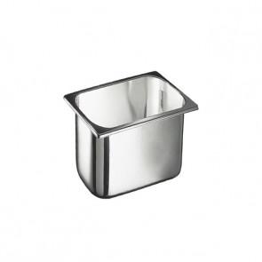 Vaschetta Inox 2.5 lt, cm 18 x 16.5 x 12 h