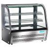 Vetrina Refrigerata Bar da Banco VPR100 - Vetri Curvi - Capacità Lt 100