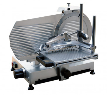 Professional cold cuts vertical slicer, 30 cm blade, CE marking