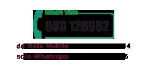 Numero verde 800-126962